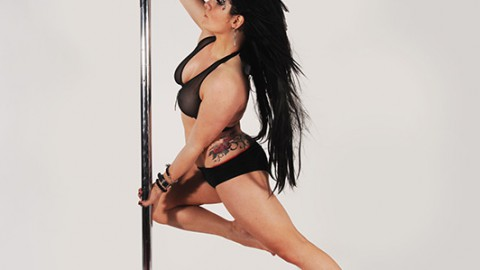Interview with pole dancer Abby Hampton