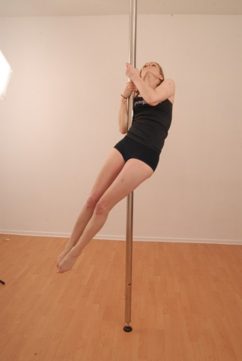 Pole Move (Candy Cane)