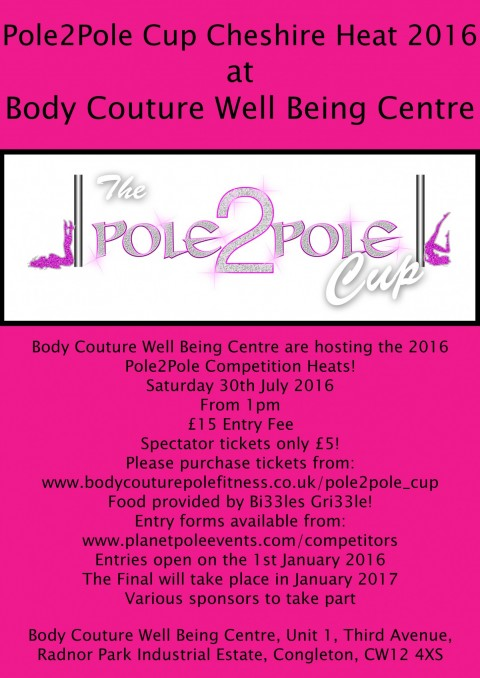 Pole2Pole Cup Cheshire Heat 2016